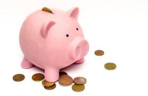 piggy bank save money
