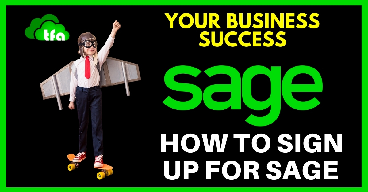 how to sign up for sage accounting
