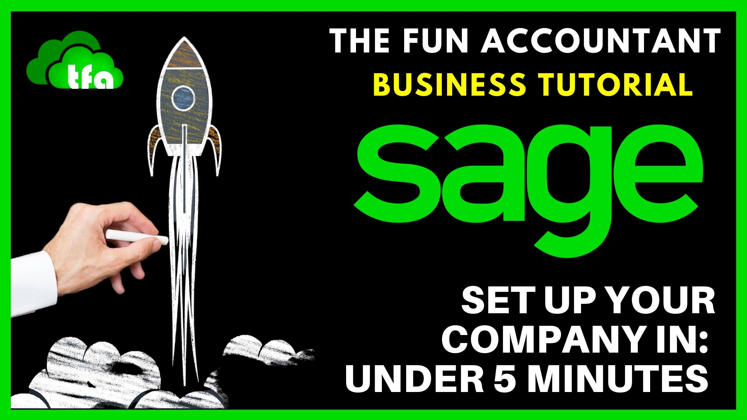 Sage company settings quick set up